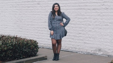 Free People shirt dress